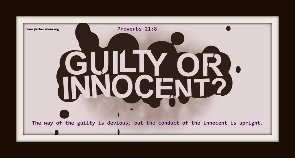 Guilty or Innocent?