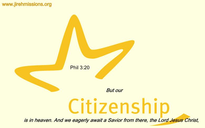 Our citizenship