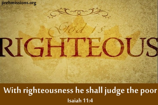 Judge Righteously