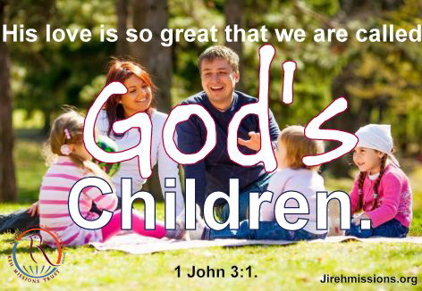 Who are God's children?