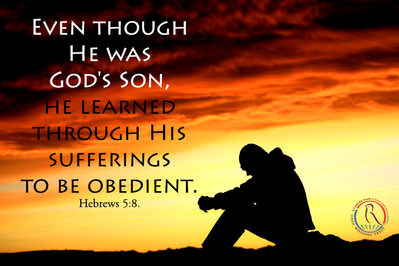 Obedience through sufferings....