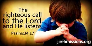 God listens...
