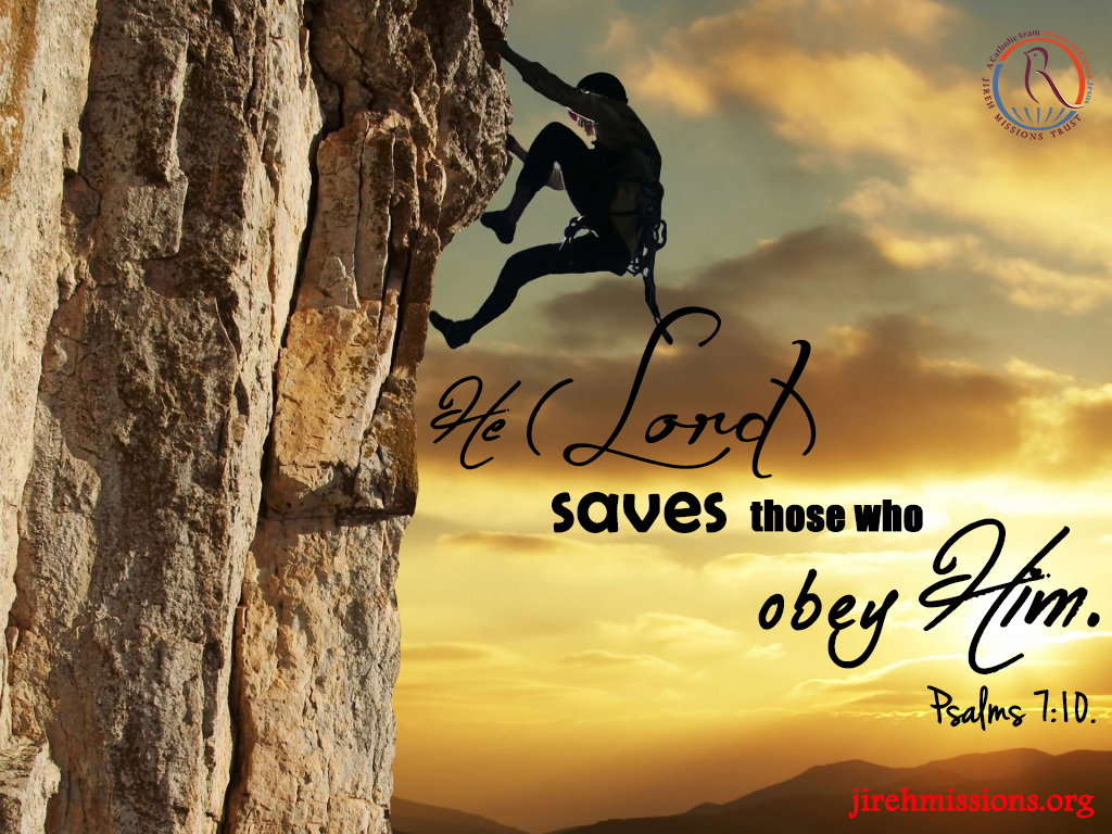 Lord saves...