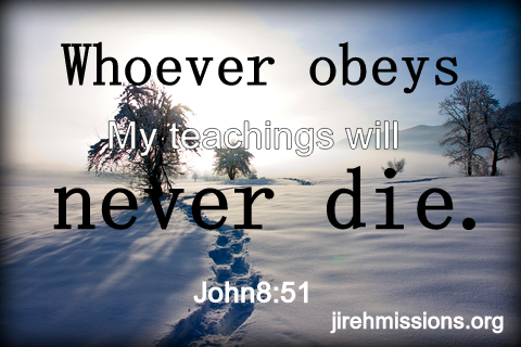 Lets obey His commands...