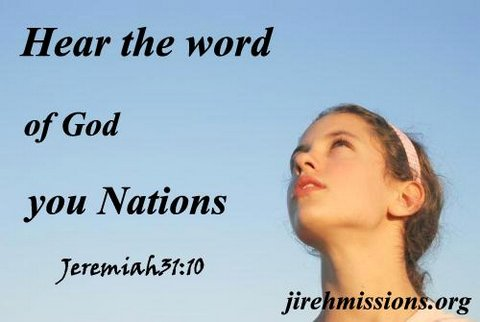Hear the Word of God...